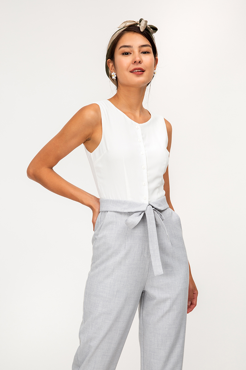 VERALDA COLOURBLOCK JUMPSUIT