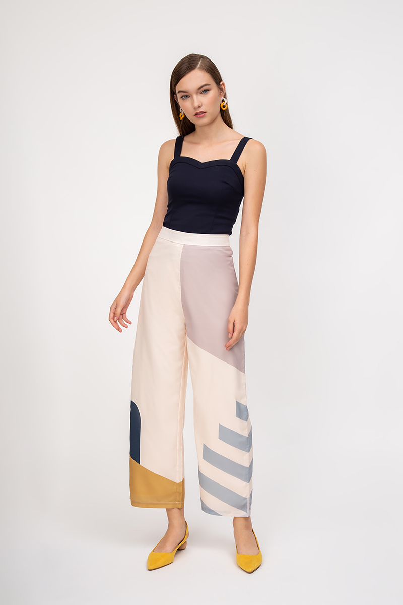 ESCAPADES ABSTRACT HIGHWAIST PANTS
