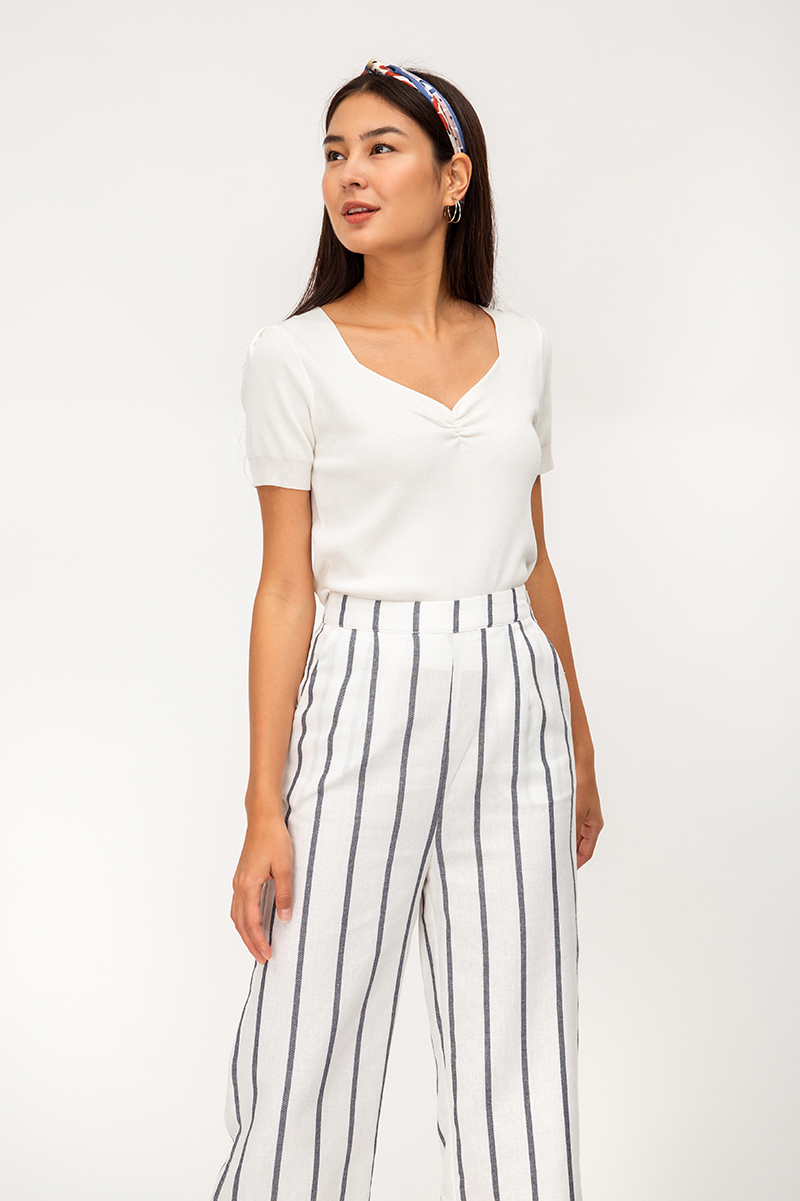 ABINA STRIPE HIGHWAIST PANTS