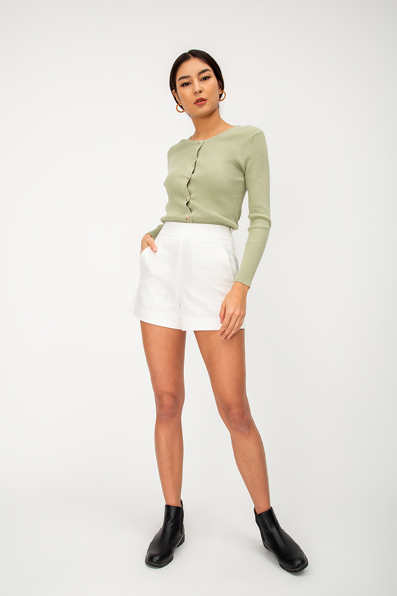 *BACKORDER 2* LEIA BASIC HIGHWAIST SHORTS