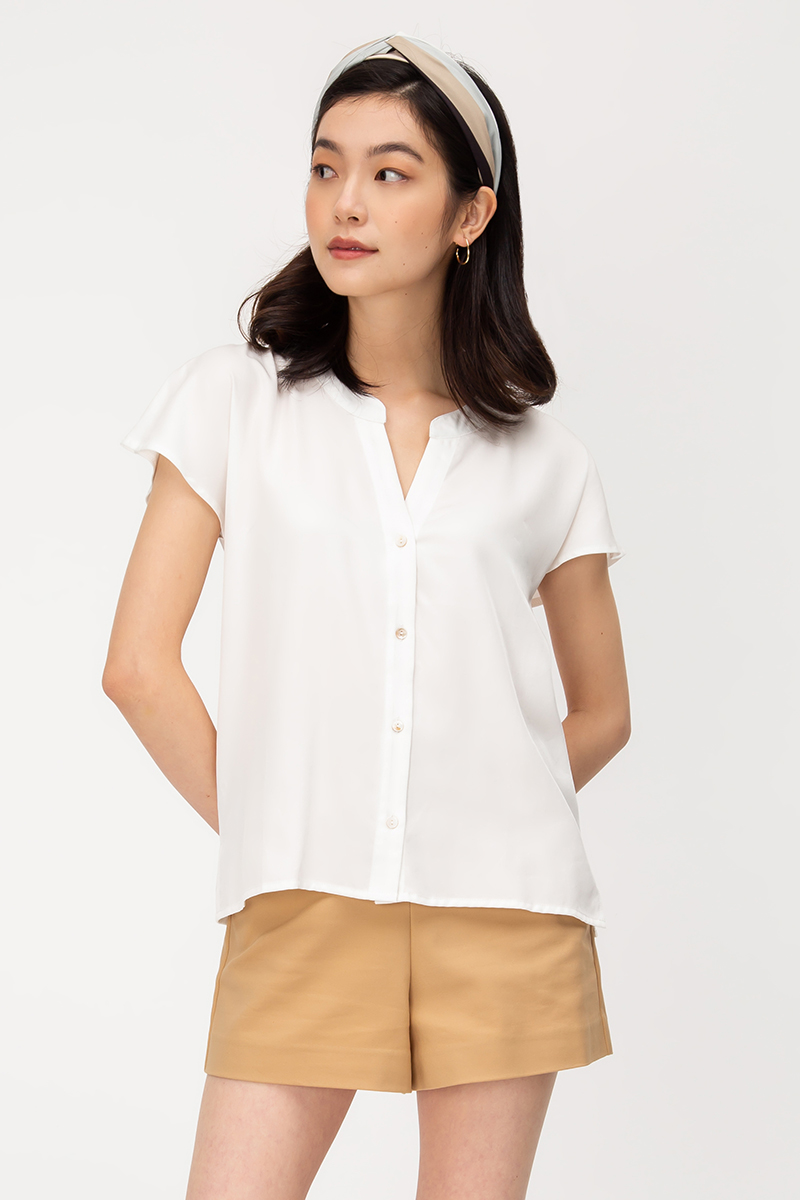 LARRI BUTTONDOWN TOP