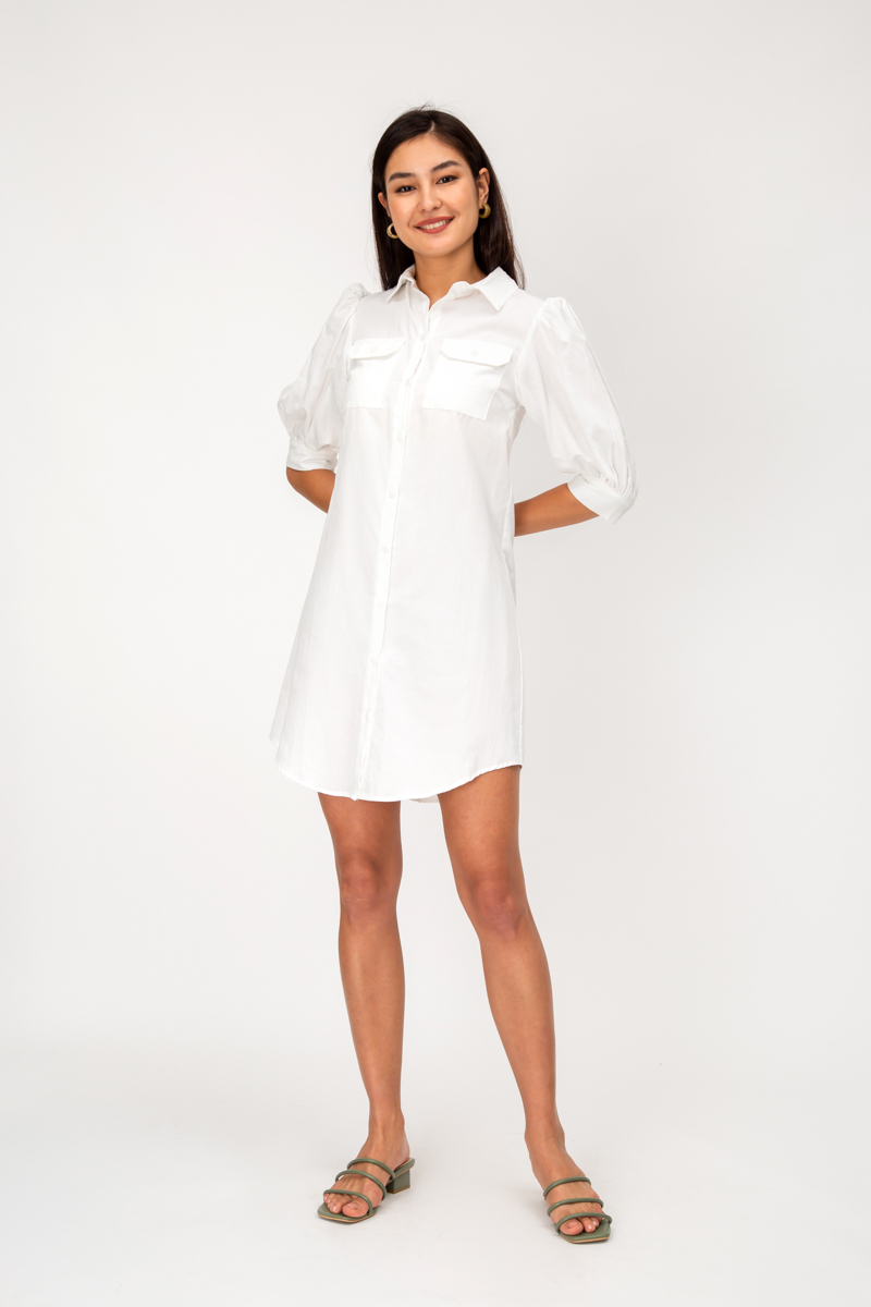 HARPER BUTTONDOWN SHIRT DRESS
