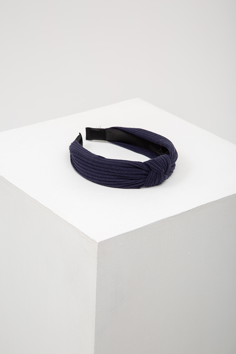 *BACKORDER* RIBBED KNOT HAIRBAND