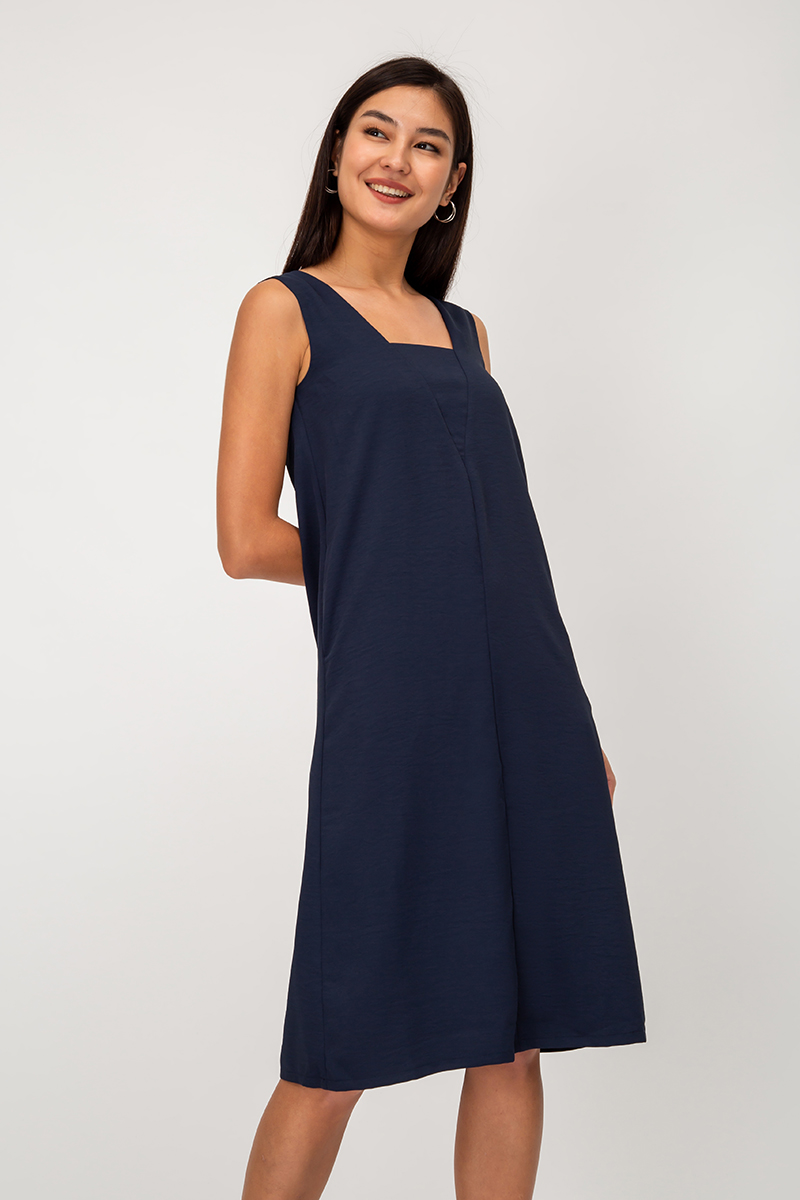 LITZY CUTOUT MIDI DRESS