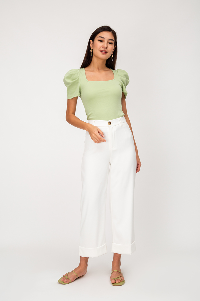 MEREDITH PUFF SLEEVE TOP