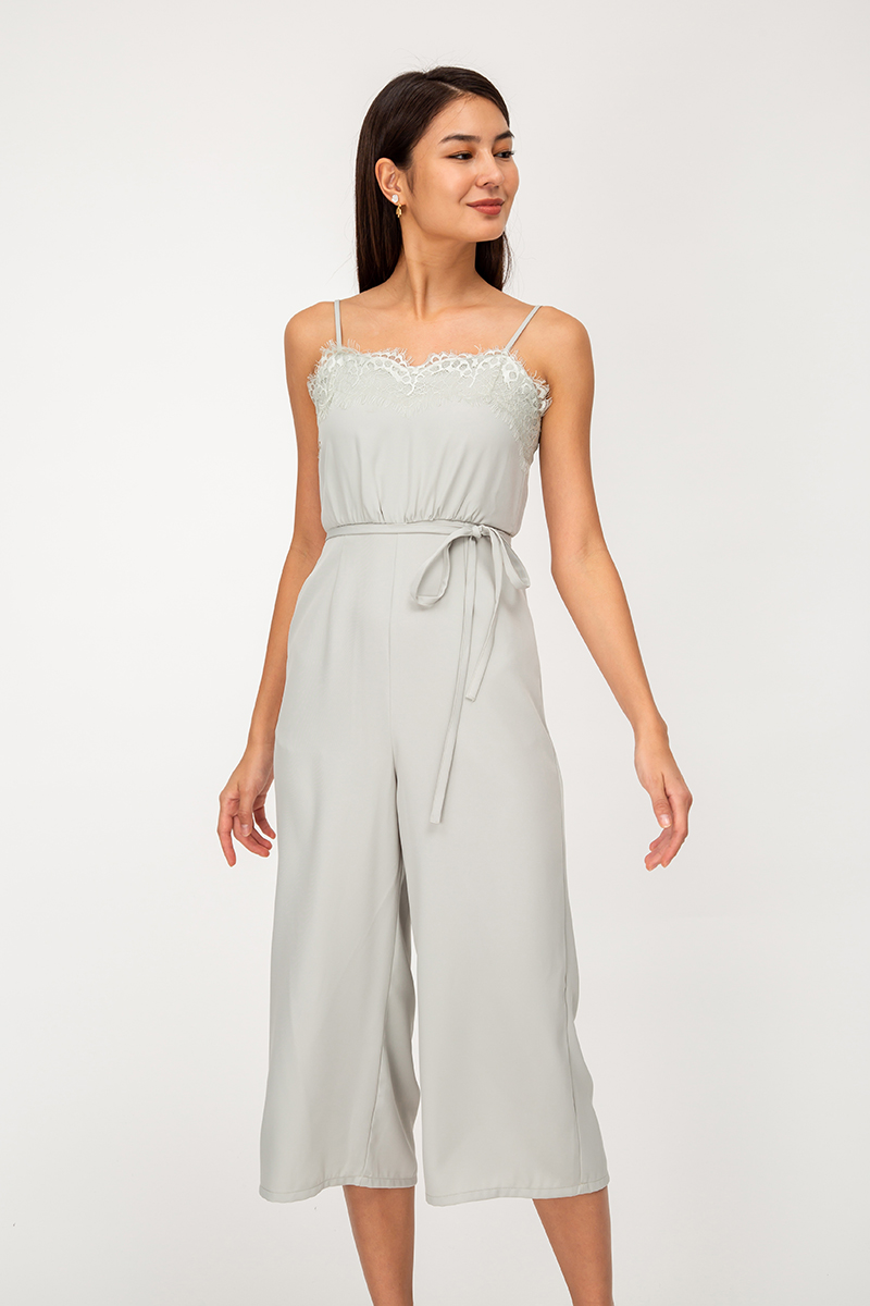 KATRIEL LACE JUMPSUIT