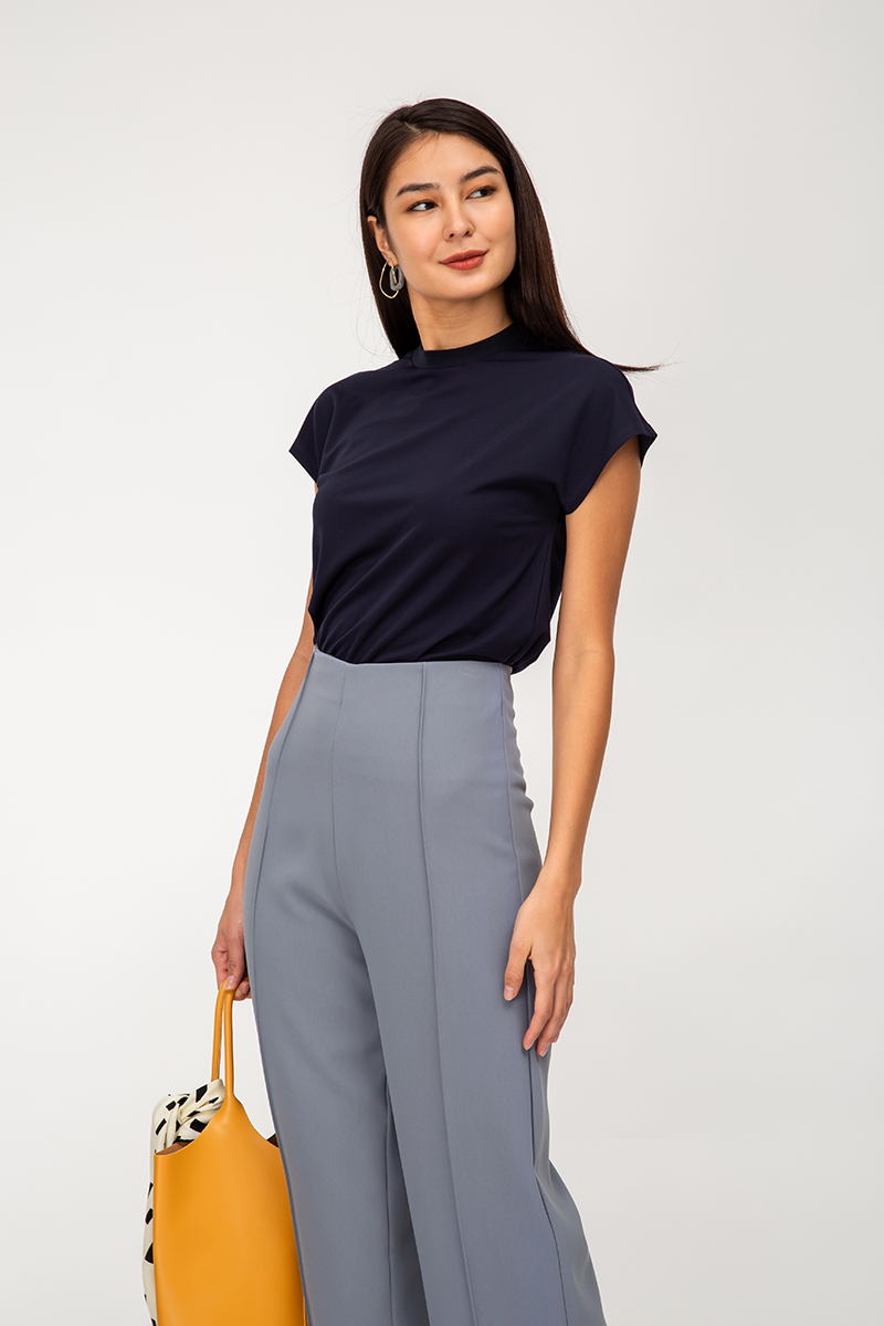 RONAN BASIC HIGHNECK TOP
