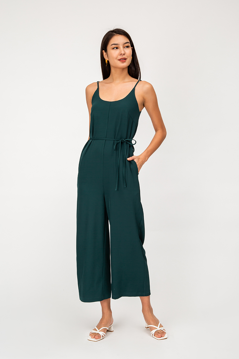 CELINA SCOOP NECK JUMPSUIT
