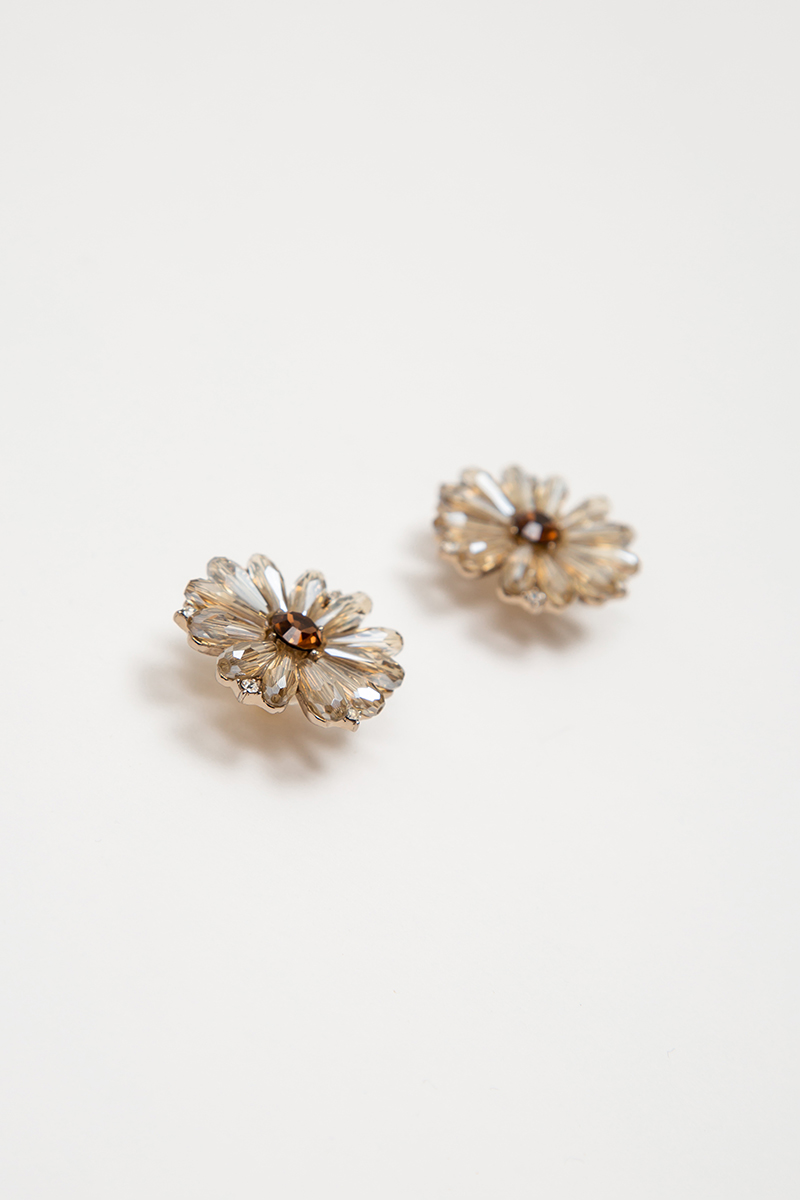DAZZIE FLORAL EARRINGS