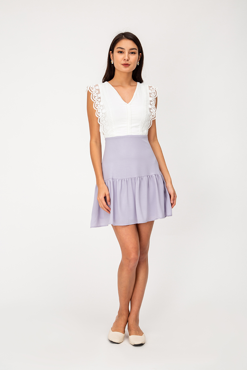TALYA CROCHET COLOURBLOCK DRESS
