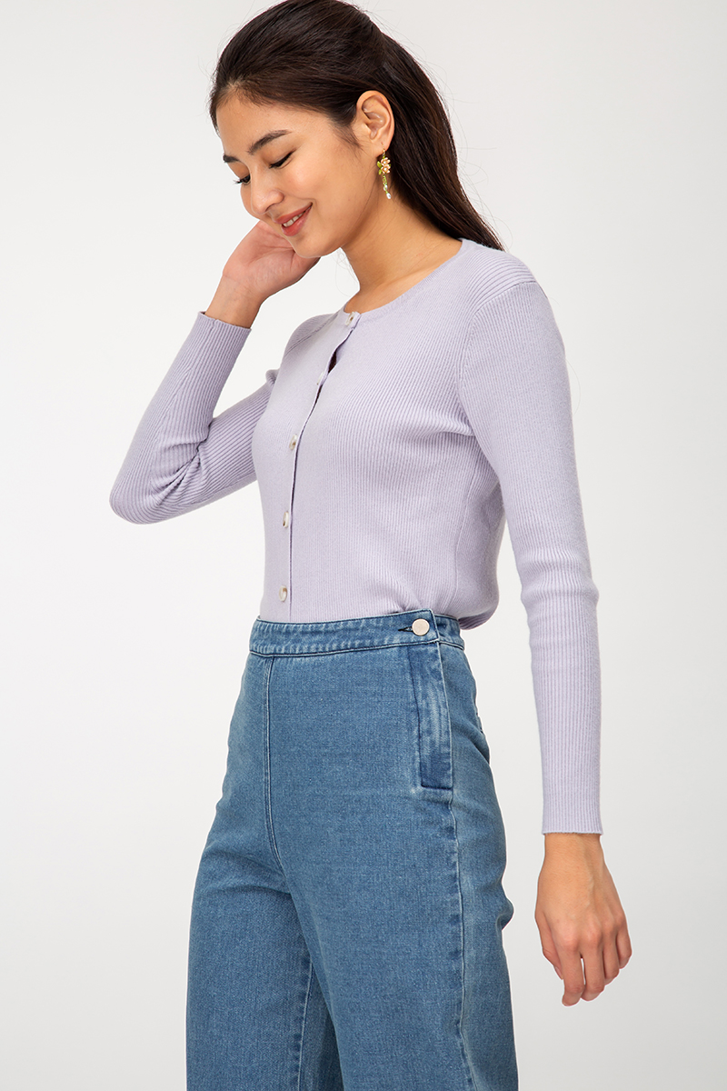 ALEXY DENIM CULOTTES