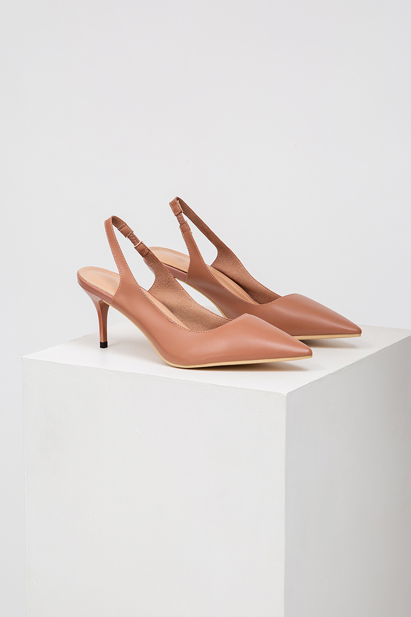 COURTNEY SLINGBACK HEELS