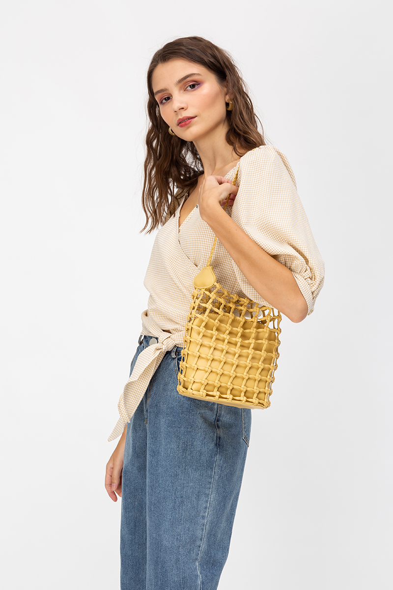 SELENA WEAVED BAG
