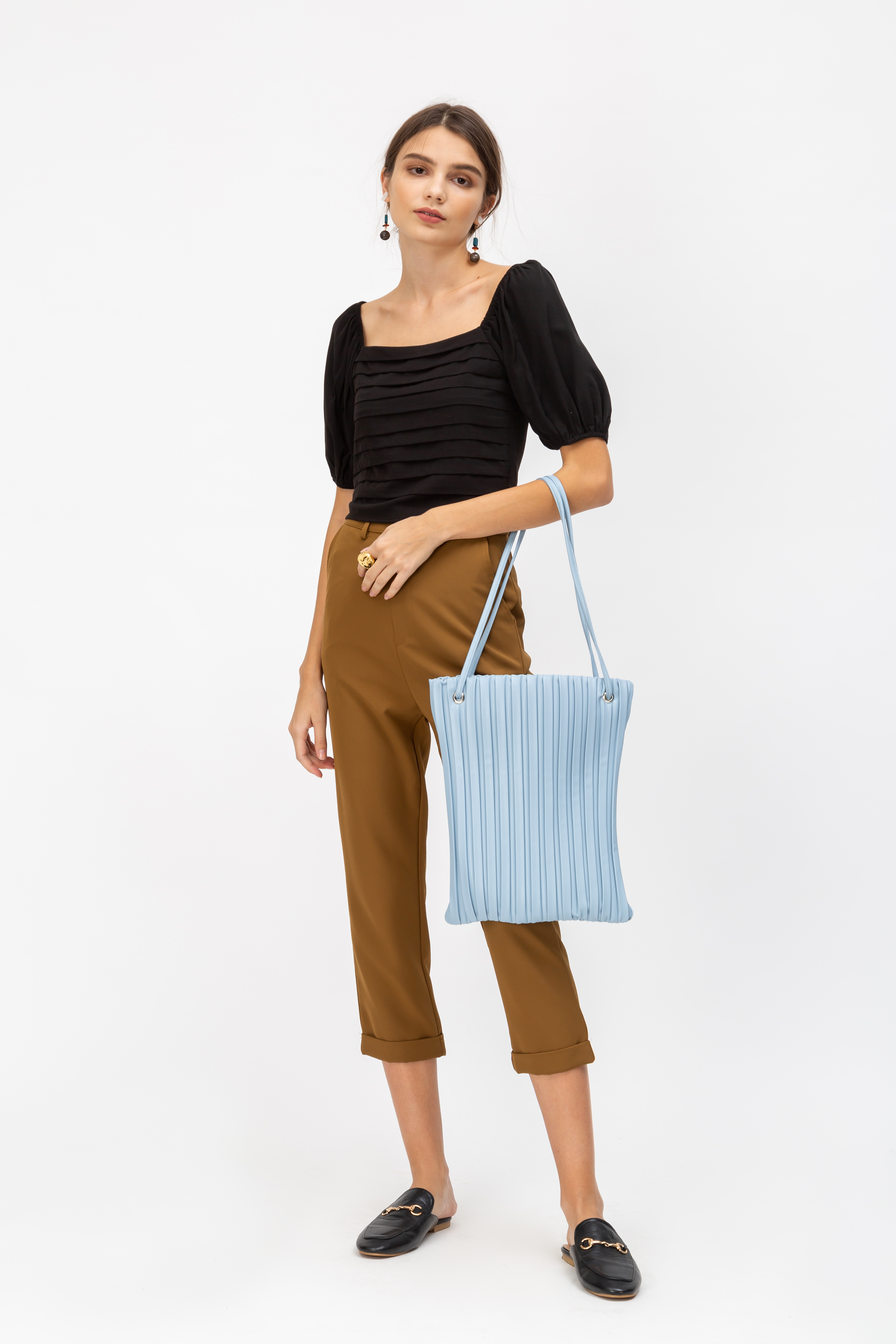LINETTE LINEAR TOTE BAG