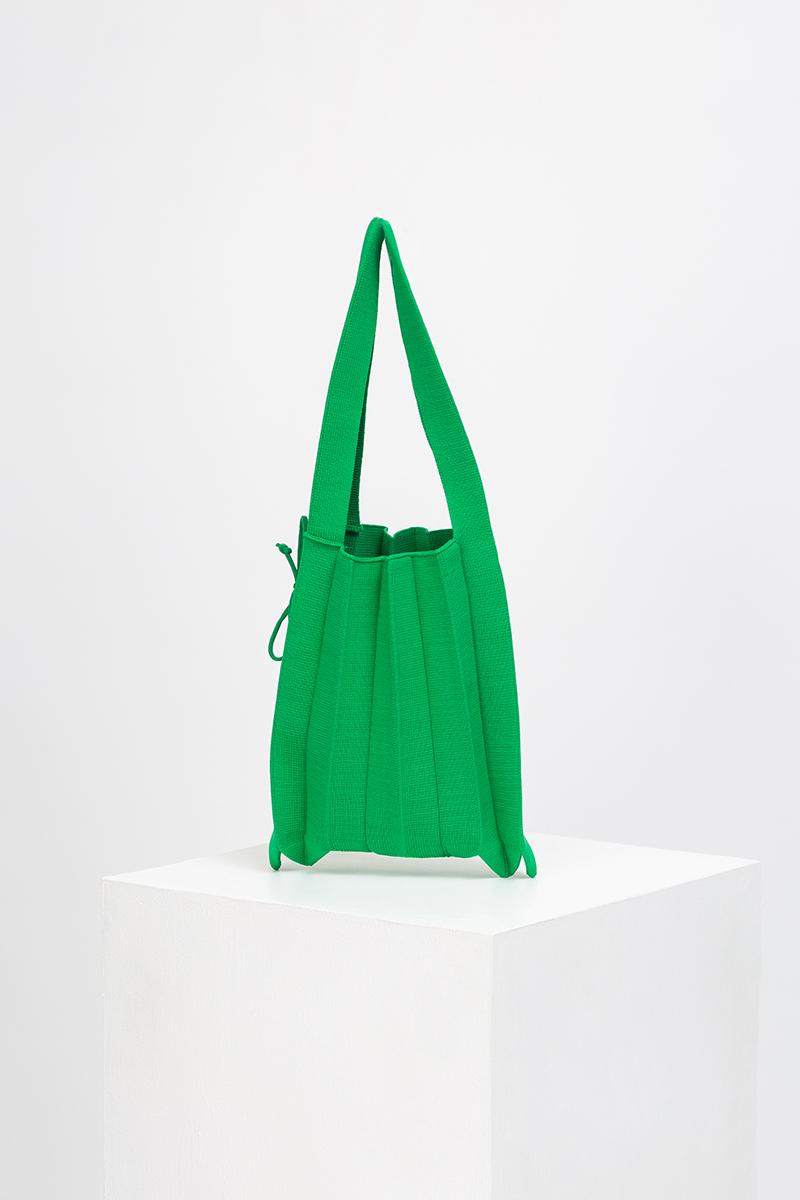 CALLA MINI PLEATED KNIT BAG