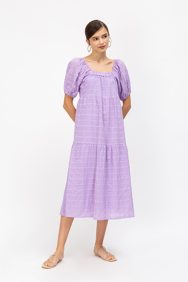 JASMINE COTTON MAXI DRESS